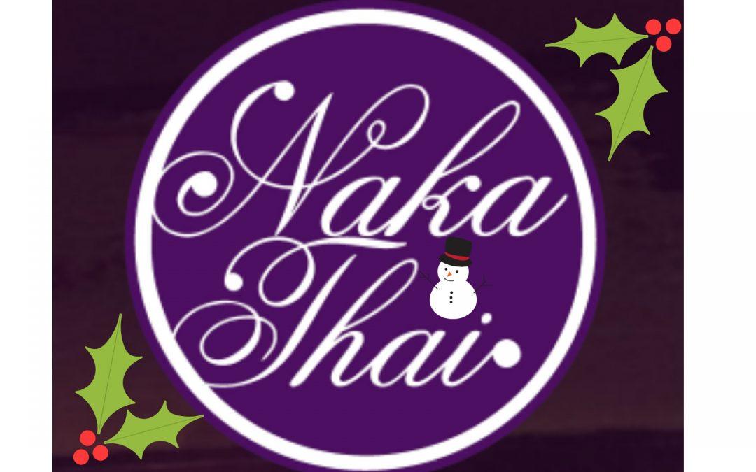 Book Your Christmas Party At Naka Thai!
